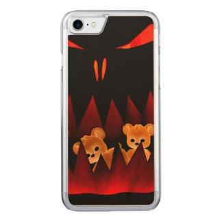 Teddy Bearz Halloween #3 Carved iPhone 7 Case