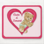 Teddy Heart Mousemats