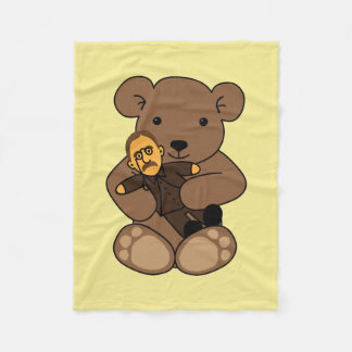 Teddy Love Fleece Blanket