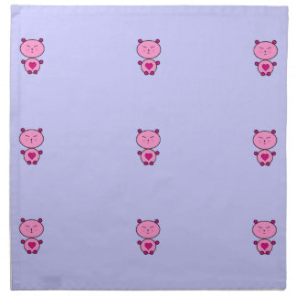 Teddy Love Napkin