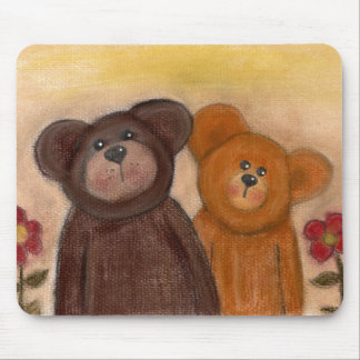 Teddy n Friend Mouse Mat