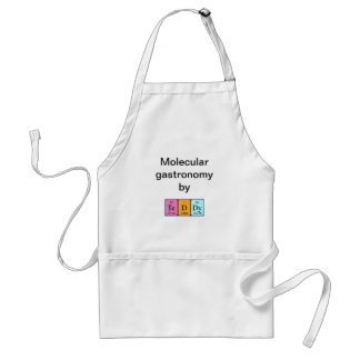Teddy periodic table name apron