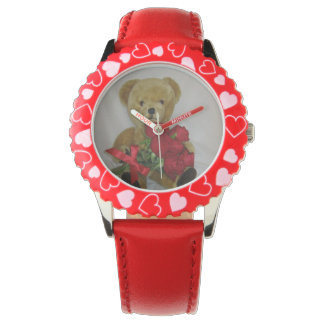 teddy red watch
