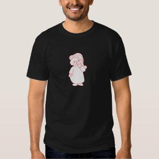 Teddy Redwork Tshirt