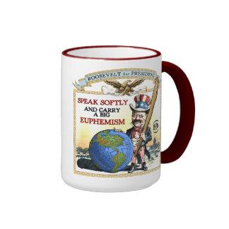 Teddy Roosevelt 1904 Campaign Mug
