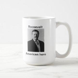 Teddy Roosevelt, American hero Classic White Coffee Mug