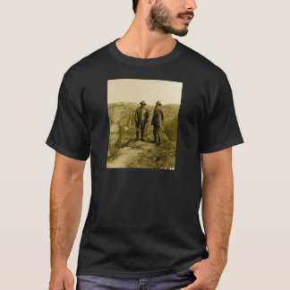 Teddy Roosevelt and John Muir at Glacier Point T-Shirt