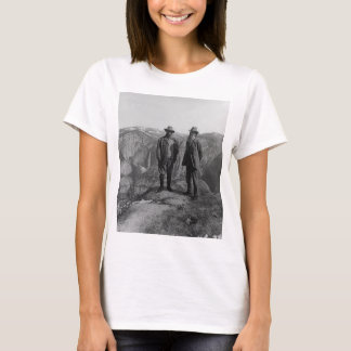 Teddy Roosevelt and John Muir  in Yosemite T-Shirt