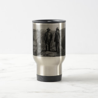 Teddy Roosevelt and John Muir  in Yosemite Travel Mug