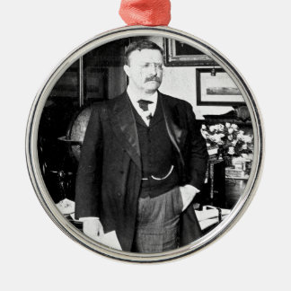 Teddy Roosevelt at the White House 1912 Vintage Christmas Ornament