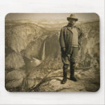 Teddy Roosevelt Glacier Point Yosemite Valley Mouse Pad