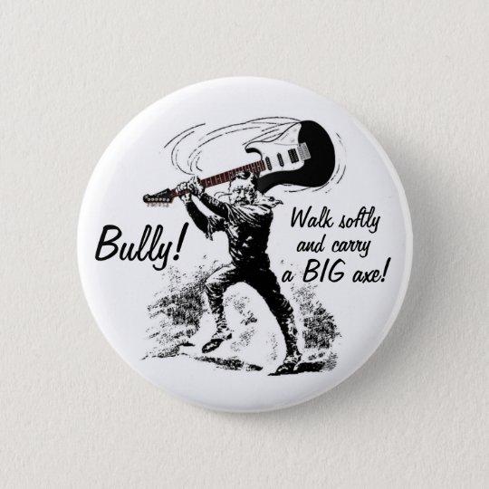 Teddy Roosevelt Guitar 6 Cm Round Badge