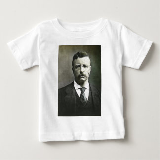 Teddy Roosevelt Vintage Glass Magic Lantern Slide Tee Shirts