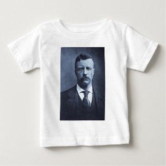 Teddy Roosevelt Vintage Glass Magic Lantern Slide T-shirts