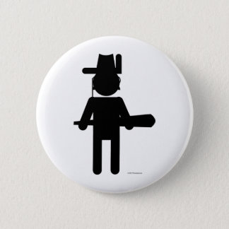 Teddy Roosvelt 6 Cm Round Badge