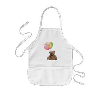 Teddy Time for Tea childs apron. Kids Apron