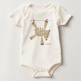 Teddy Vest Baby Bodysuit