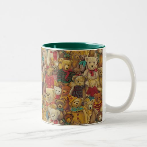 teddybear christmas mug