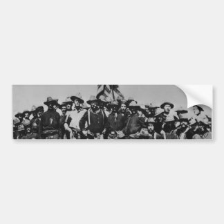 Teddy's Colts Teddy Roosevelt Rough Riders 1898 Bumper Sticker