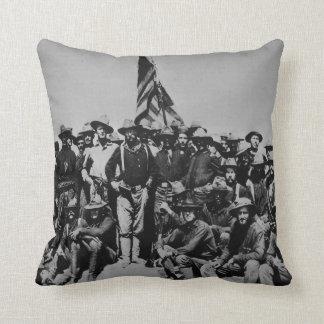 Teddy's Colts Teddy Roosevelt Rough Riders 1898 Cushion