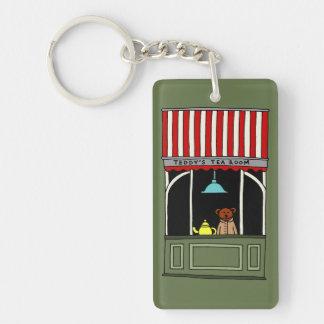 Teddy's Tea Room Key Ring