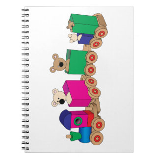 Teddy's Train Ride. Notebooks