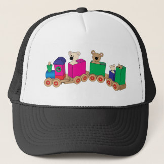Teddy's Train Ride. Trucker Hat