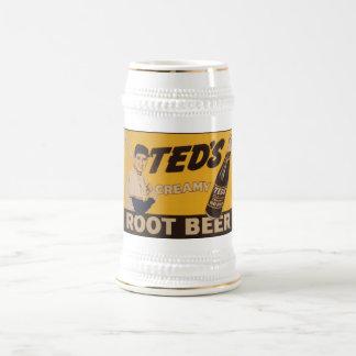 Teds Creamy Root Beer Beer Stein