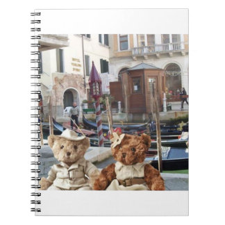 Teds in Venice Notebook