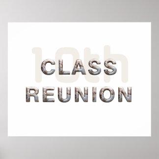 TEE 10th Class Reunion Poster