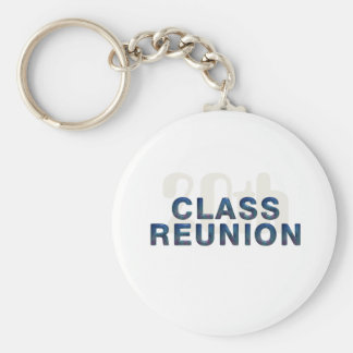 TEE 20th Class Reunion Basic Round Button Key Ring