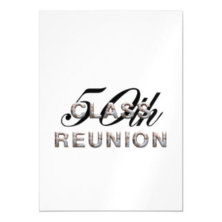 TEE 50th Class Reunion Magnetic Invitations