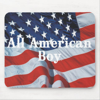 TEE All American Boy Mousepads