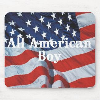 TEE All American Boy Mousepads