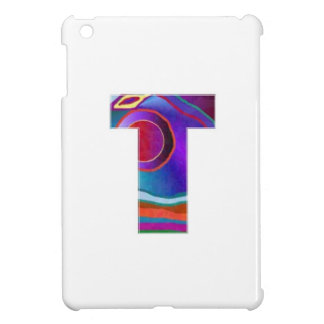 TEE ALPHA T Alphabet: Initial Name ID Identity TT Cover For The iPad Mini