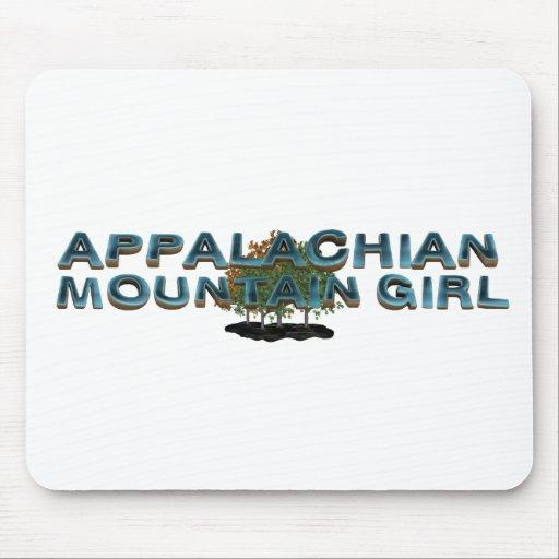 TEE Appalachian Mountain Woman Mouse Pad