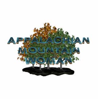 TEE Appalachian Mountain Woman Photo Sculpture
