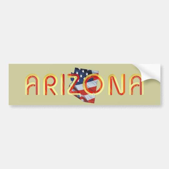 TEE Arizona Patriot Bumper Sticker