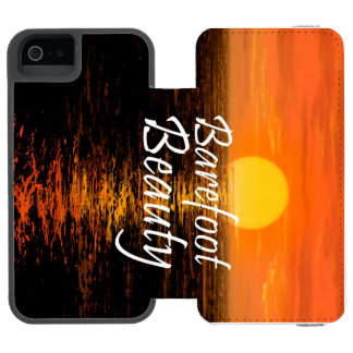 TEE Barefoot Beauty Incipio Watson™ iPhone 5 Wallet Case