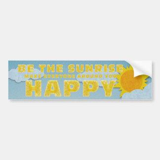 TEE Be the Sunrise Bumper Sticker