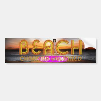 TEE Beach Charisma Bumper Stickers