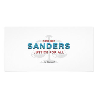 TEE Bernie Sanders for President Custom Photo Card