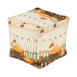 TEE Big Top Cube Pouf
