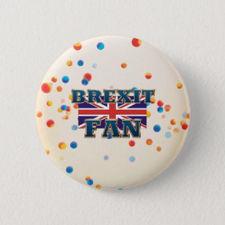 TEE Brexit Fan 6 Cm Round Badge
