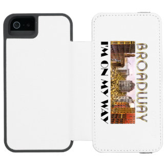 TEE Broadway Star Incipio Watson™ iPhone 5 Wallet Case
