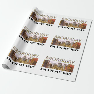 TEE Broadway Star Wrapping Paper