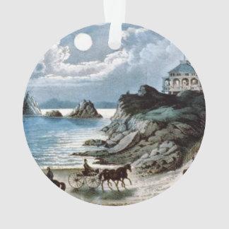 TEE California Coast Ornament