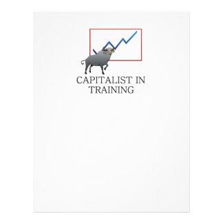 TEE Capitalist in Training 21.5 Cm X 28 Cm Flyer