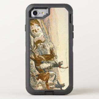 TEE Cattle Drive OtterBox Defender iPhone 8/7 Case