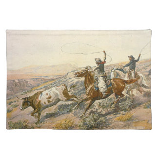 TEE Cattle Drive Placemat